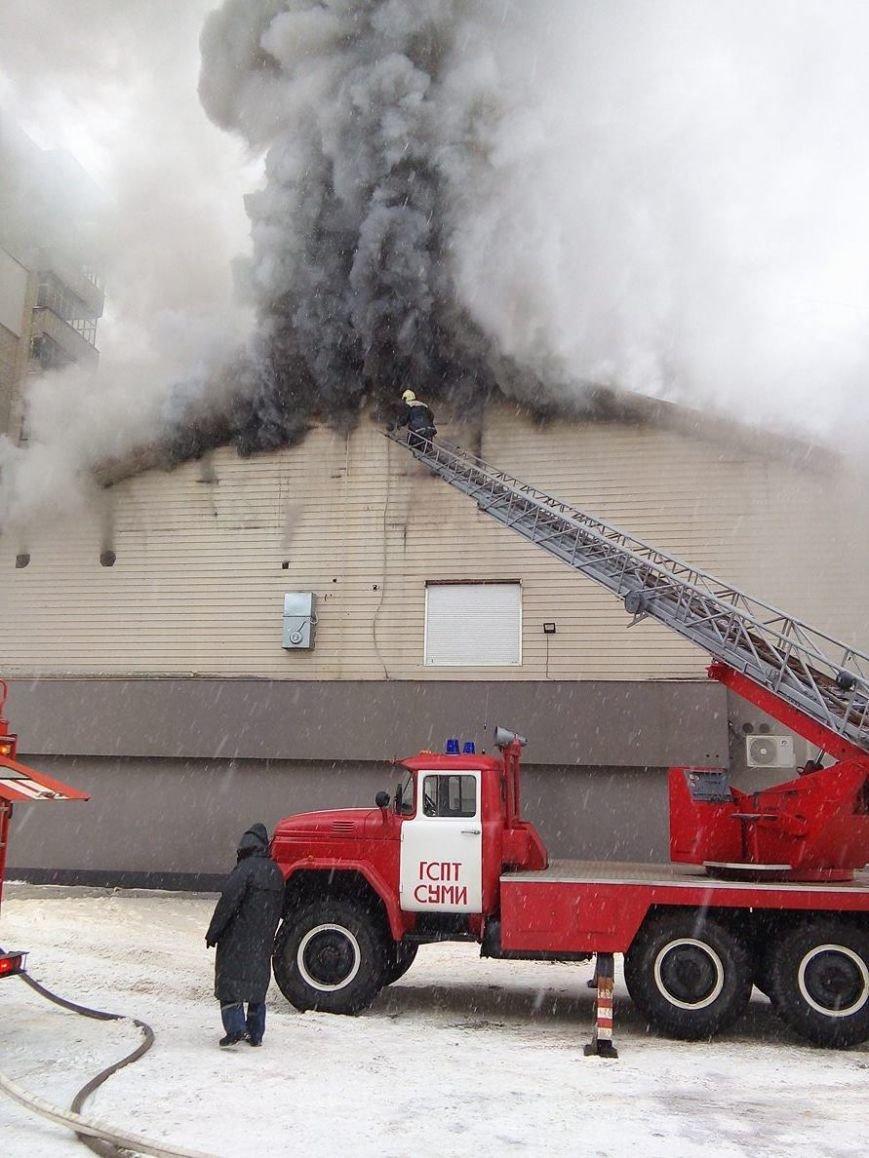 Над горящим в Сумах «Бетоном» нависла дымовая завеса (ФОТО+ВИДЕО), фото-6