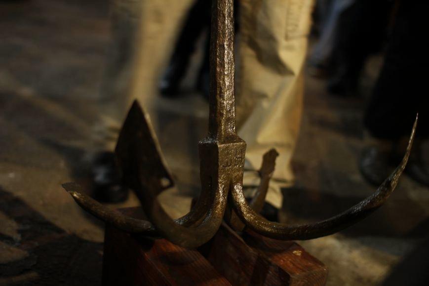 На Хортице презентовали два старинных якоря, - ФОТОРЕПОРТАЖ, фото-6