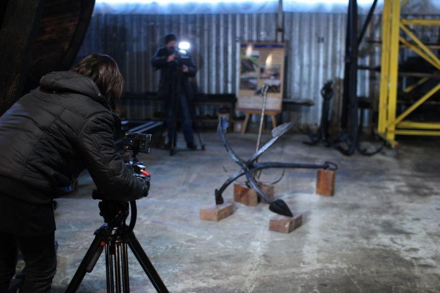 На Хортице презентовали два старинных якоря, - ФОТОРЕПОРТАЖ, фото-14
