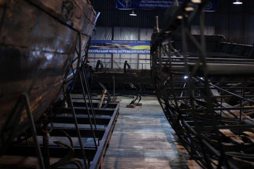 На Хортице презентовали два старинных якоря, - ФОТОРЕПОРТАЖ, фото-12