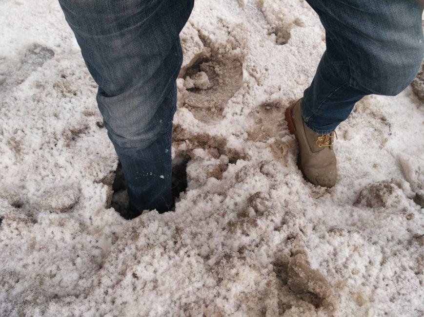 Опять двойка: запорожские коммунальщики не справляются с уборкой улиц от снега, - ФОТО, фото-4