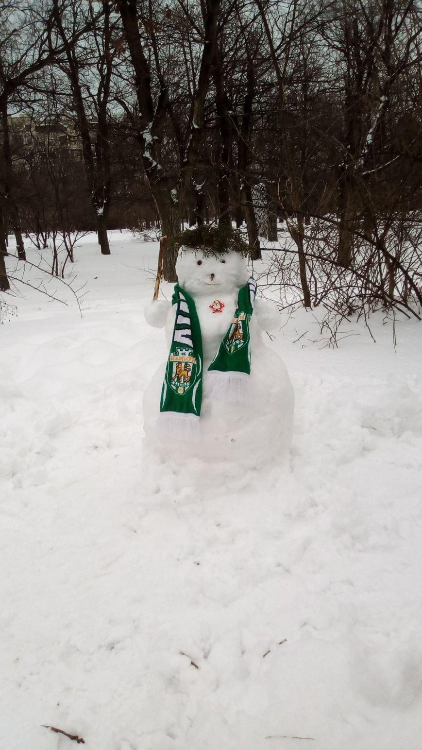 В Одессе из снега вылепили Дарта Вейдера, Крокодила Гену и настоящего мужика (ФОТО), фото-14