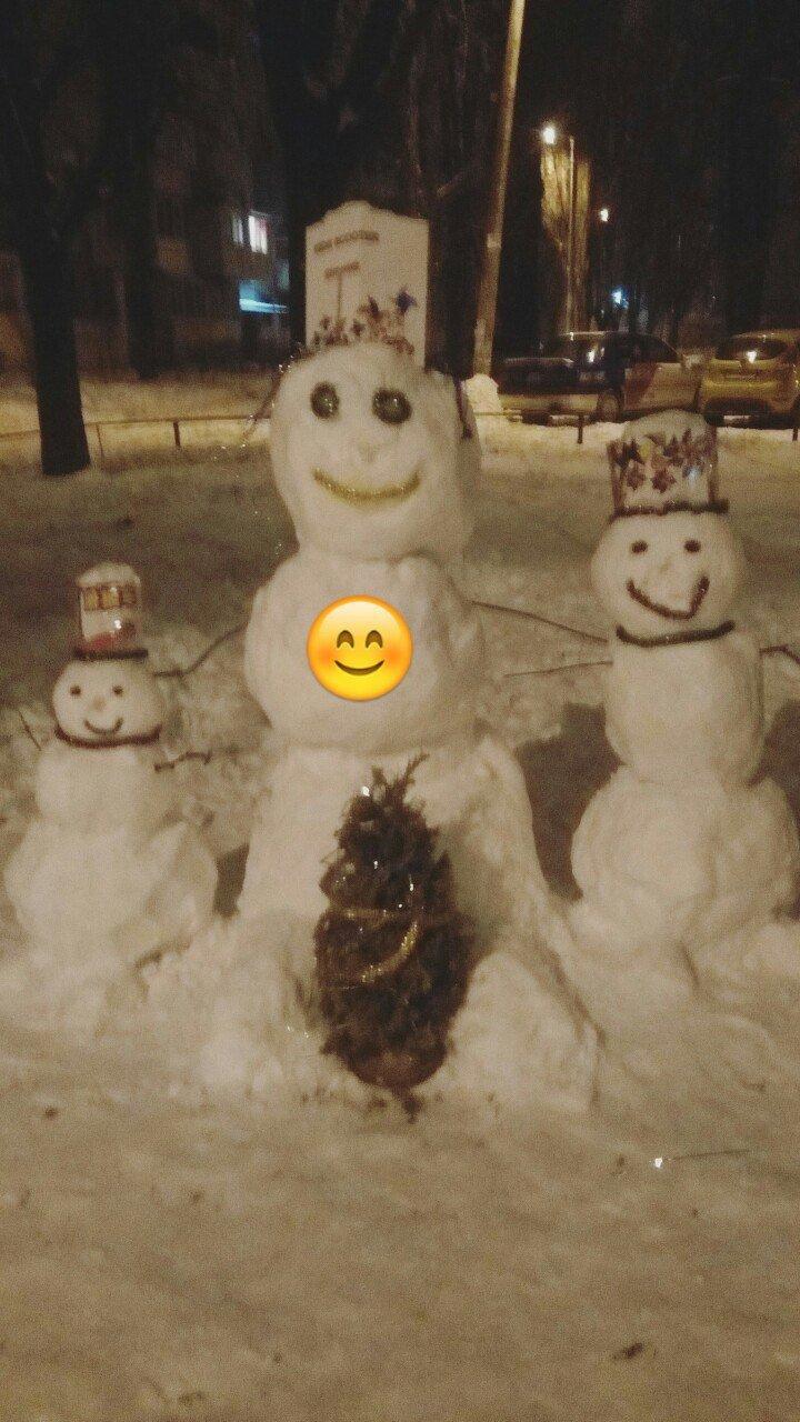 В Одессе из снега вылепили Дарта Вейдера, Крокодила Гену и настоящего мужика (ФОТО), фото-13
