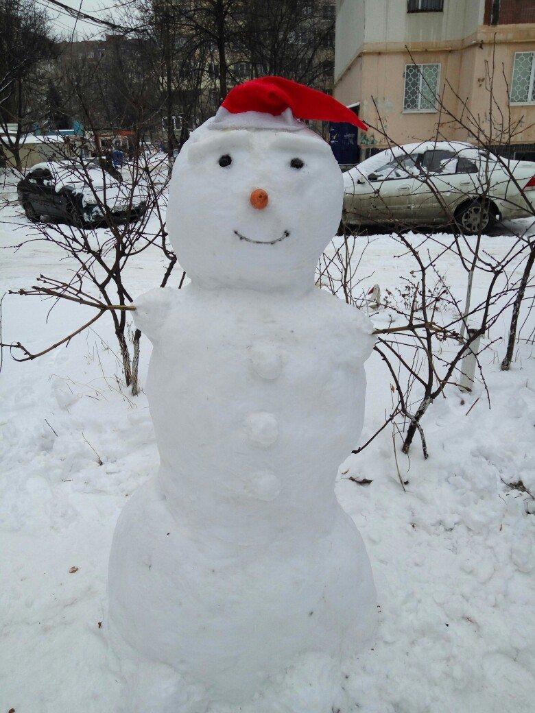 В Одессе из снега вылепили Дарта Вейдера, Крокодила Гену и настоящего мужика (ФОТО), фото-12