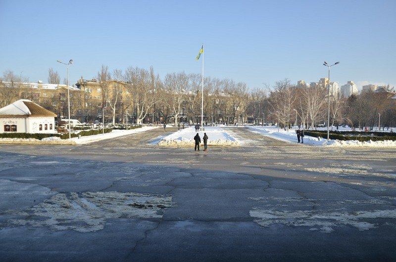 Порошенко назначал губернатора Одесской области среди грязных луж (ФОТО), фото-14