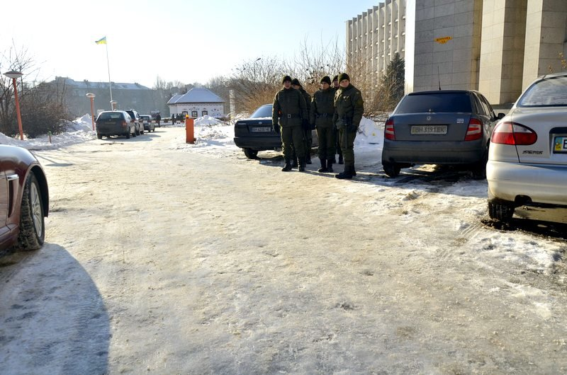 Порошенко назначал губернатора Одесской области среди грязных луж (ФОТО), фото-1
