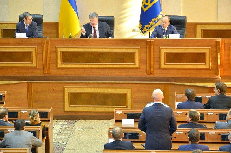 Порошенко подвел итоги работы реформаторов и представил одесситам нового главу области (ФОТО), фото-5