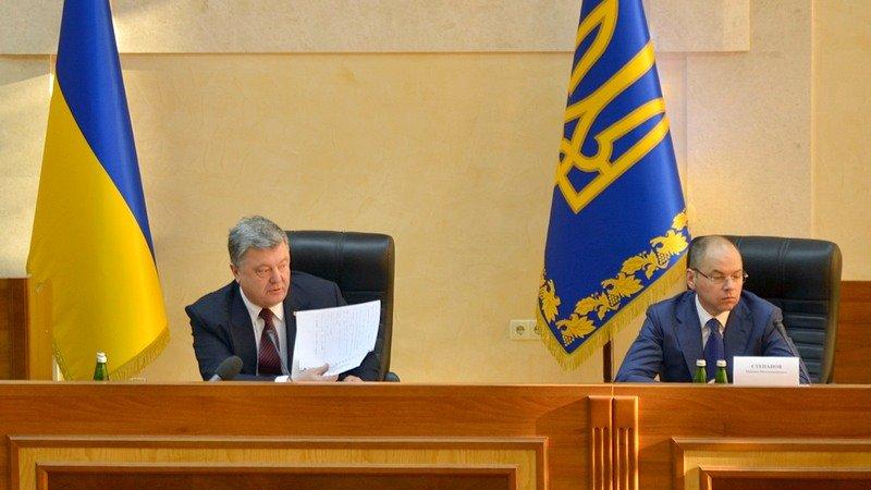 Порошенко подвел итоги работы реформаторов и представил одесситам нового главу области (ФОТО), фото-4