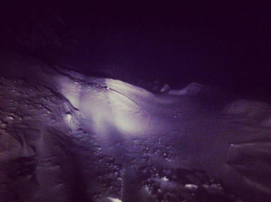 На Ай-Петри около 2 часов назад сошли две снежные лавины, фото-3