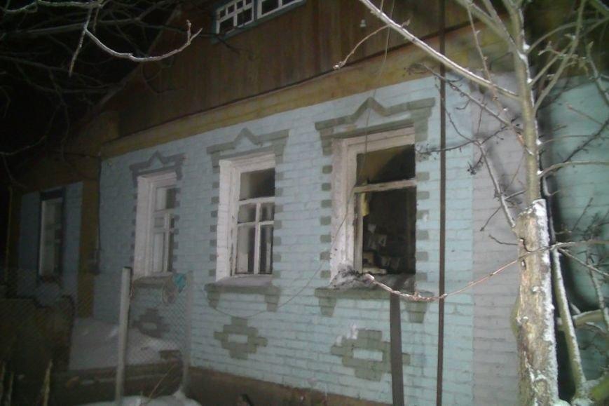 Под Харьковом загорелся дом. Соседи успели спасти двоих жильцов (ФОТО), фото-2