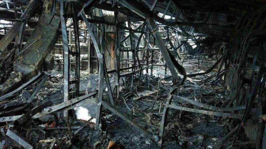 Появились фото из сгоревшего в Сумах «Бетона» (ФОТО), фото-3