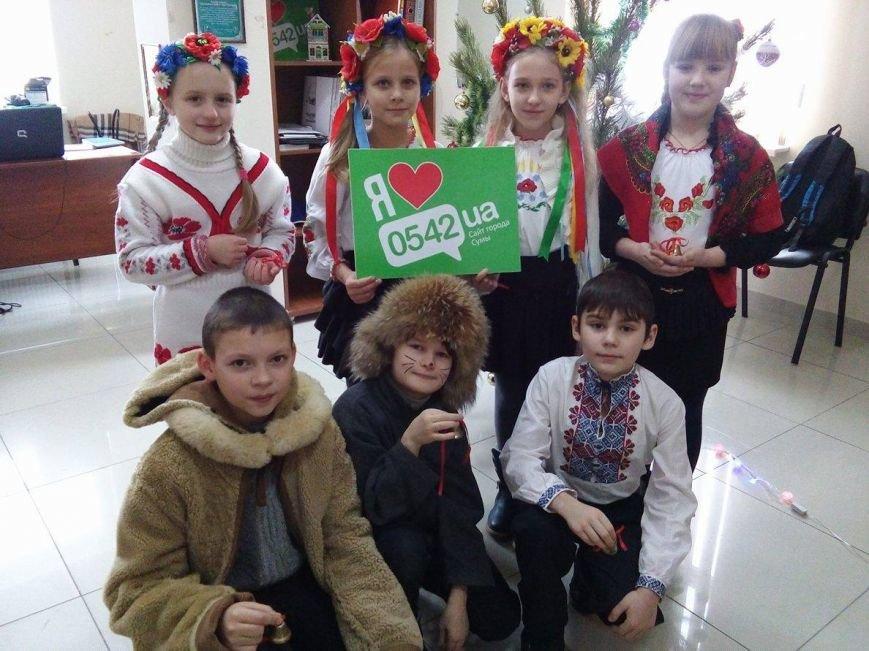 В редакции сайта Сум 0542.ua щедровали маленькие сумчане (ФОТО+ВИДЕО), фото-4