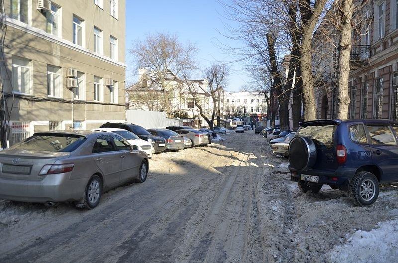 Автохамы оккупировали переулок в центре Одессы (ФОТО), фото-6