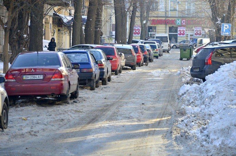 Автохамы оккупировали переулок в центре Одессы (ФОТО), фото-7