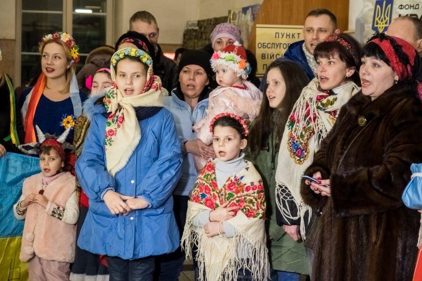 На Старый Новый год в Днепре прошел необычный флешмоб (ФОТО), фото-1