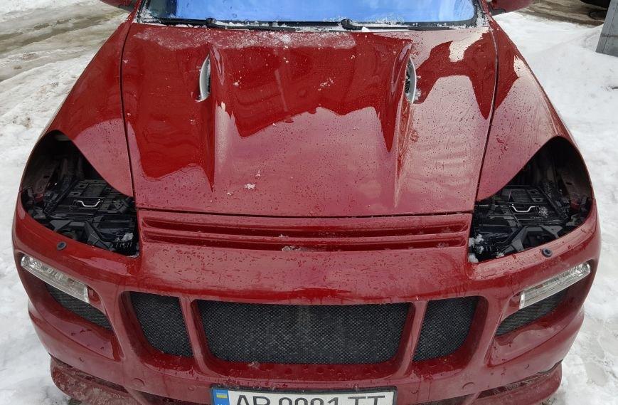 В Запорожье в «Porsche Cayenne» замглавы облсовета украли фары, - ФОТОФАКТ, фото-1