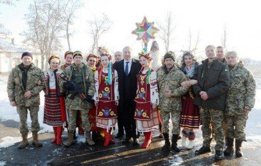Как щедровали в воинских частях Мелитопольского района, фото-1