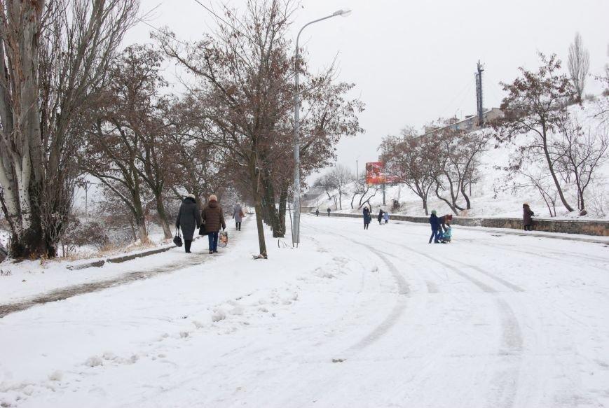 """На """"Средней Горе"""" бердянцы катаются на санках, - ФОТОРЕПОРТАЖ, фото-1"""