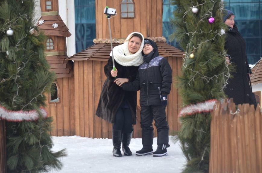 В Запорожье на Фестивальной площади отметили Старый новый год, - ФОТОРЕПОРТАЖ, фото-8