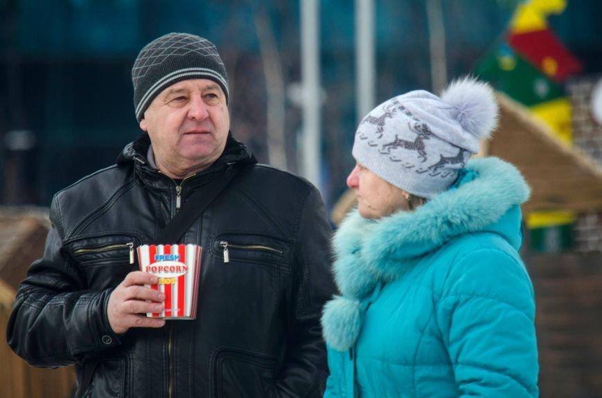 В Запорожье на Фестивальной площади отметили Старый новый год, - ФОТОРЕПОРТАЖ, фото-20