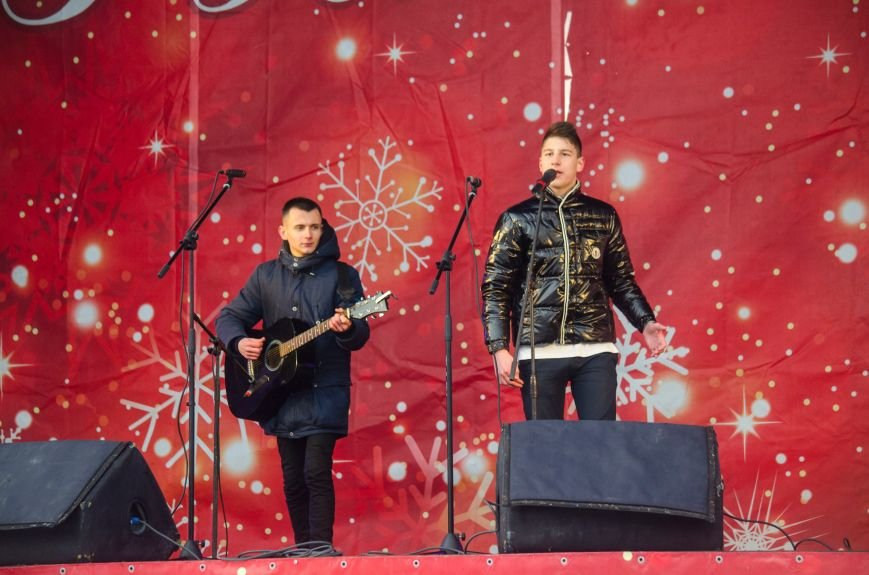 В Запорожье на Фестивальной площади отметили Старый новый год, - ФОТОРЕПОРТАЖ, фото-7