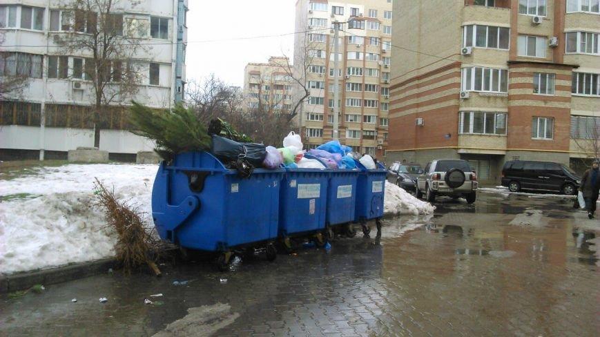 Одесские мусорщики ушли на новогодние каникулы (ФОТО), фото-4