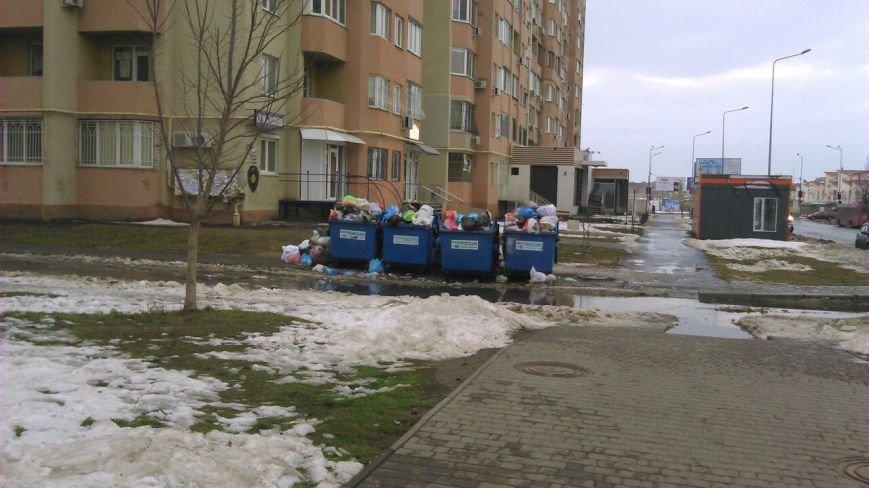 Одесские мусорщики ушли на новогодние каникулы (ФОТО), фото-3