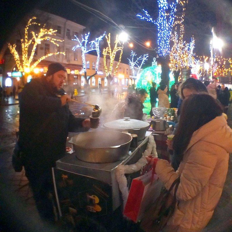 На Дерибасовской начался фестиваль глинтвейна (ФОТО), фото-19