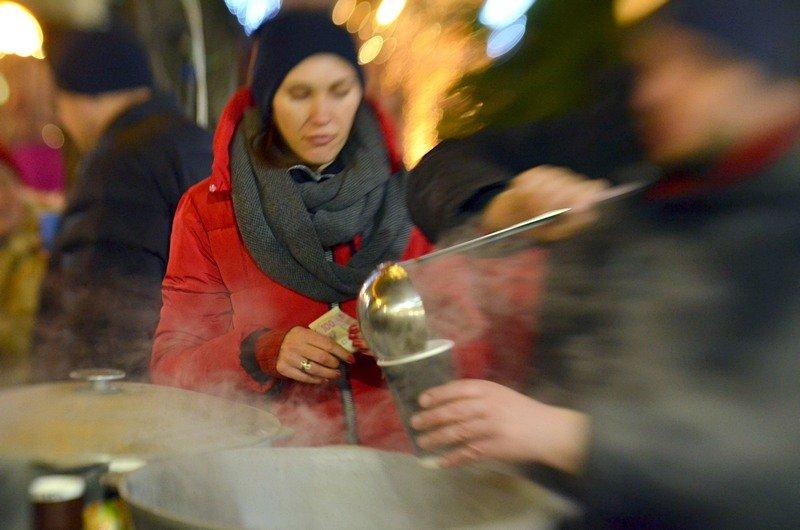 На Дерибасовской начался фестиваль глинтвейна (ФОТО), фото-10