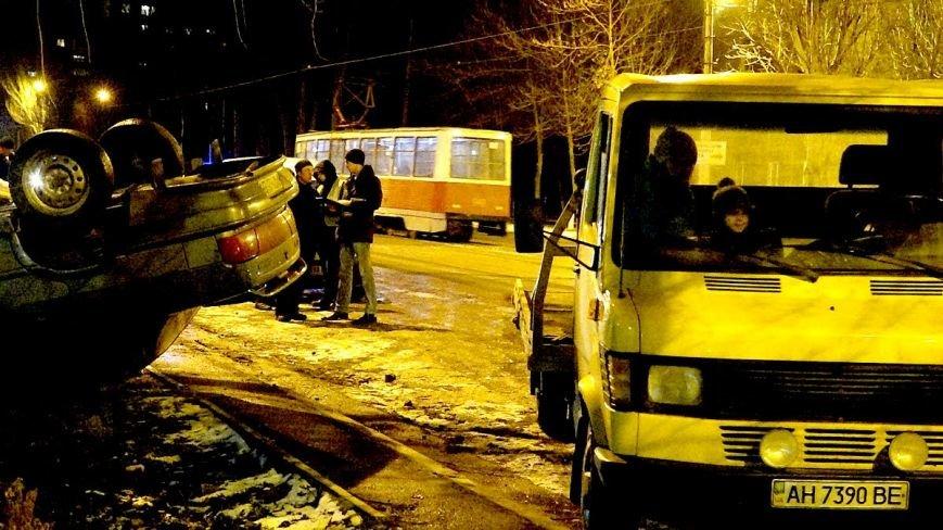 На Левобережье Мариуполя в авто перевернулся пьяный мариуполец (ФОТО), фото-5