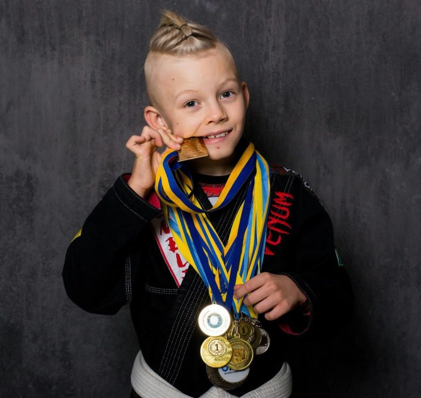 10-летний херсонец - первый в Украине по бразильскому джиу-джитсу и самый физически подготовленный ребенок в своем возрасте (фото), фото-1