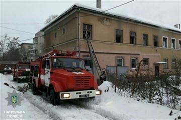 У Мукачеві горіла квартира