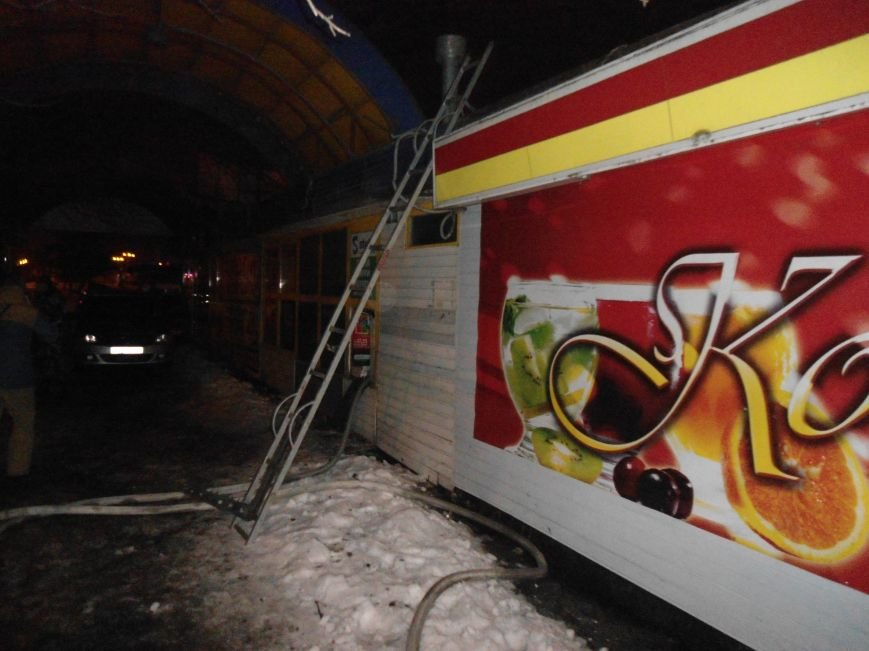 """В Каменском горел коктейль-бар """"1+1"""", фото-2"""