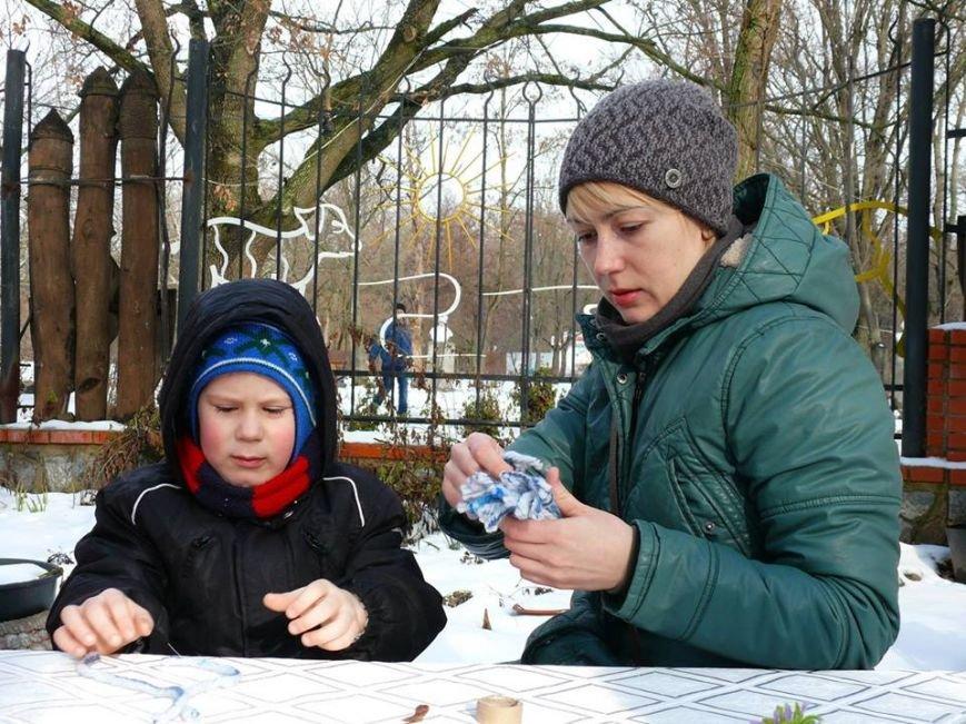 В парке мастерили зимний декор, фото-2