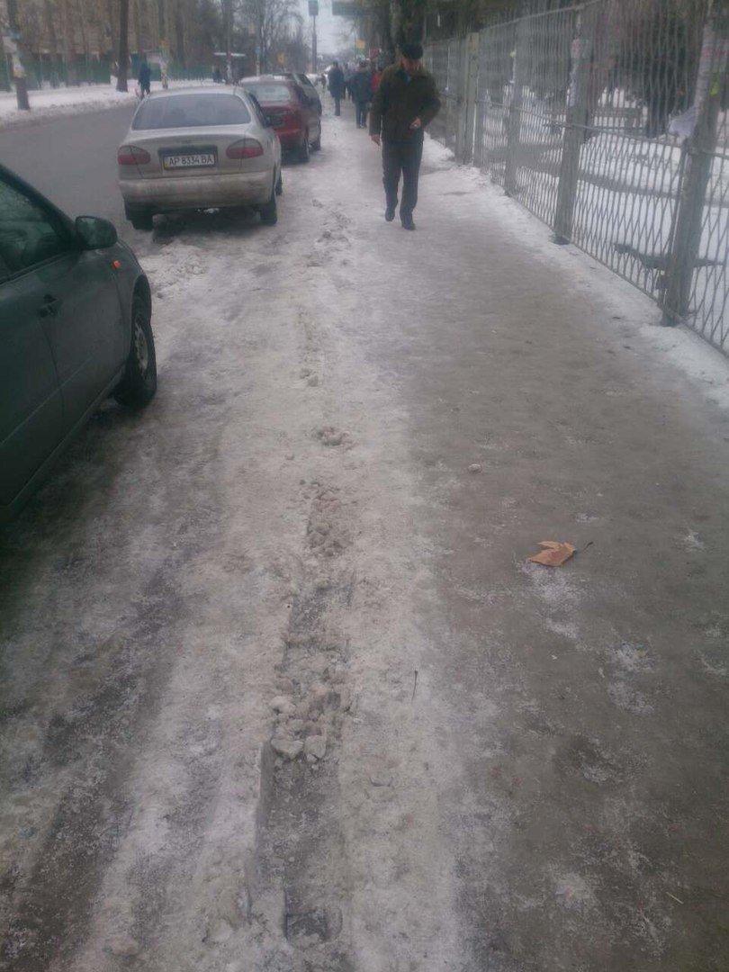 Мелитополец не мог попасть в запорожскую больницу из-за отвратительной дороги, фото-3