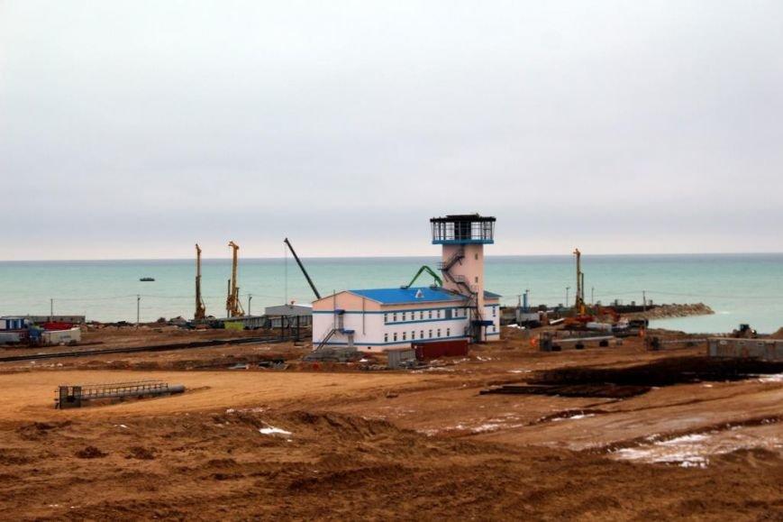 Завершается строительство порта Курык. Фото, фото-13