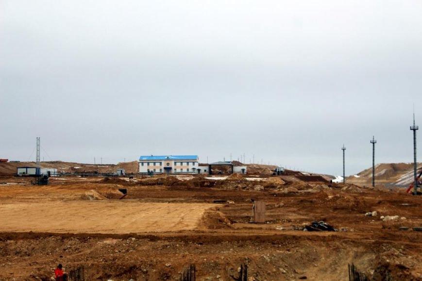 Завершается строительство порта Курык. Фото, фото-10