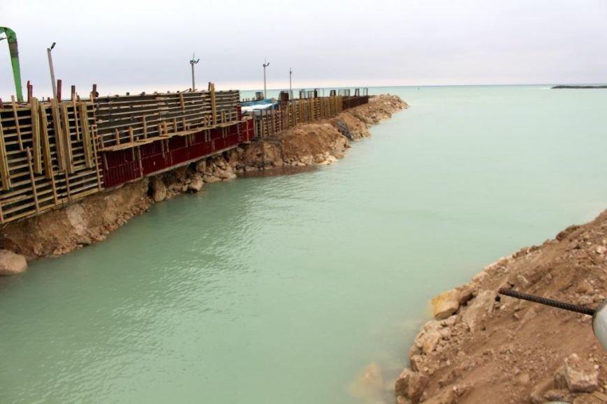 Завершается строительство порта Курык. Фото, фото-5