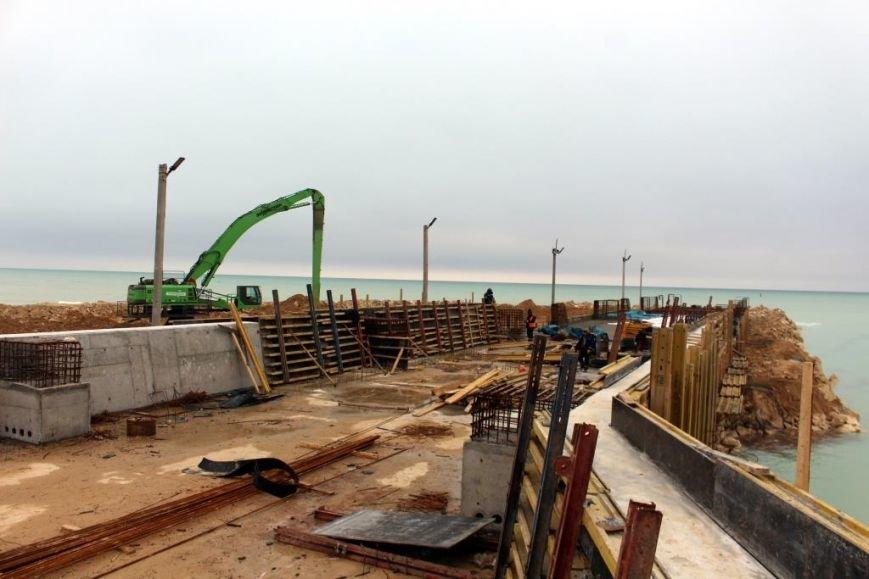 Завершается строительство порта Курык. Фото, фото-6