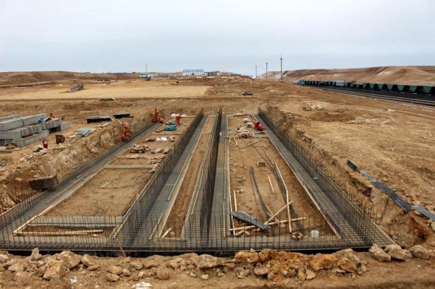 Завершается строительство порта Курык. Фото, фото-8
