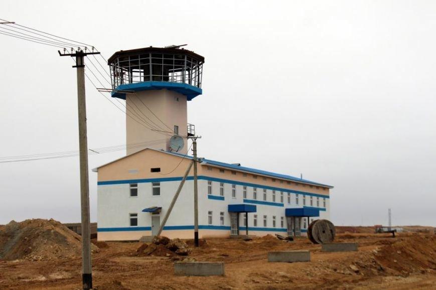 Завершается строительство порта Курык. Фото, фото-2