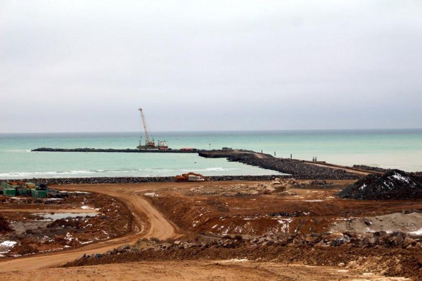 Завершается строительство порта Курык. Фото, фото-12