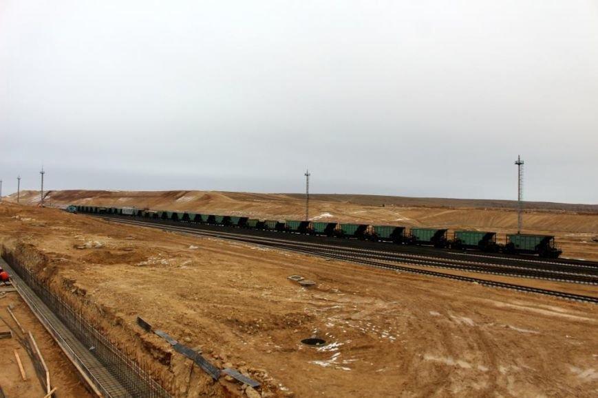 Завершается строительство порта Курык. Фото, фото-9