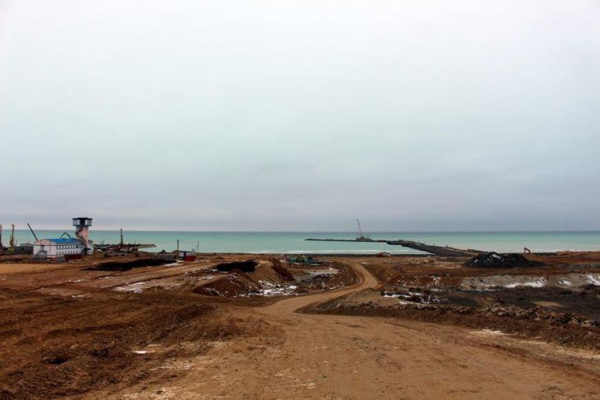 Завершается строительство порта Курык. Фото, фото-14