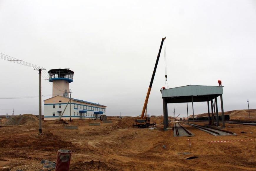 Завершается строительство порта Курык. Фото, фото-1