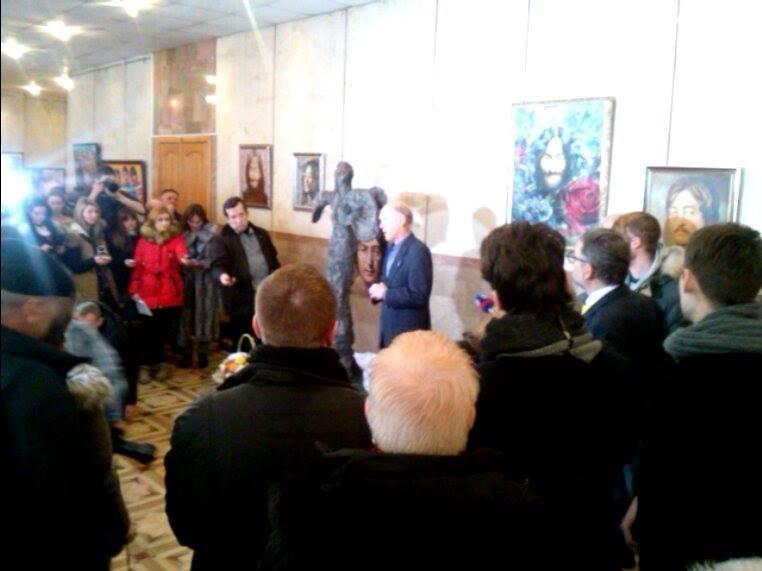 В Запорожье открыли памятник Джону Леннону, - ФОТОФАКТ, фото-2