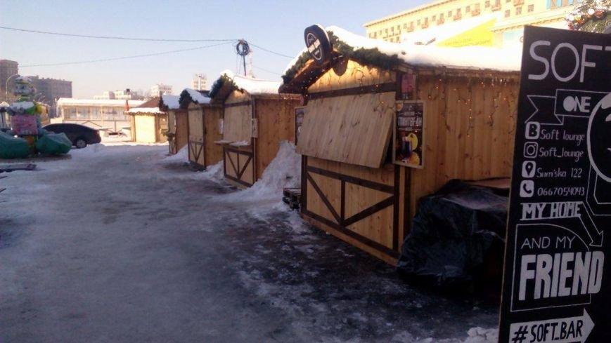 В Харькове начали демонтировать аттракционы на площади Свободы (ФОТО), фото-3