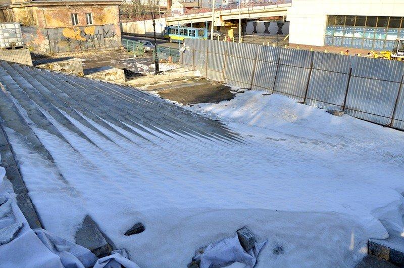 Потемкинскую лестницу затопили, угроза исходит от реставраторов (ФОТО), фото-14