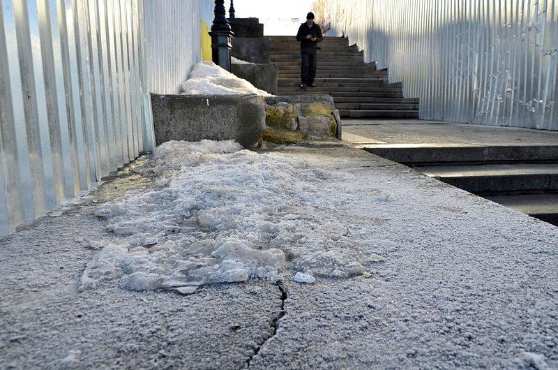 Потемкинскую лестницу затопили, угроза исходит от реставраторов (ФОТО), фото-7
