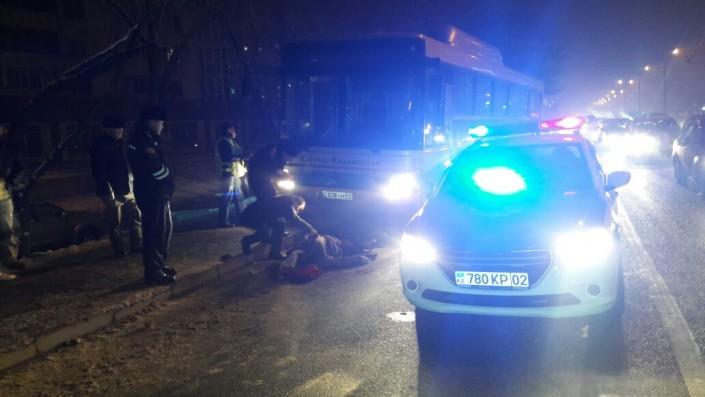 Смертельное ДТП с участием автобуса в Алматы, фото-1